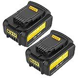 [2 X DCB200] Topbatt 18V 5.0Ah Reemplazo para Dewalt Batería DCB184 DCB200 DCB182 DCB180 DCB181 DCB182 DCB201