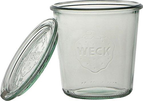 Weck 3285400 Vasetto, 290 ml, Confezione da 6 Pezzi