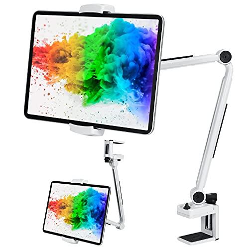 MEKUULA Schwanenhals Tablet Halterung,Ständer Tablet Halter, Handy Halter Lazy Flexible 360 ° drehbare verstellbare Lange Armständer für iPad Air 3 Mini 2,3,4,MediaPad 6,Galaxy Tab,iPhone 12 Pro usw