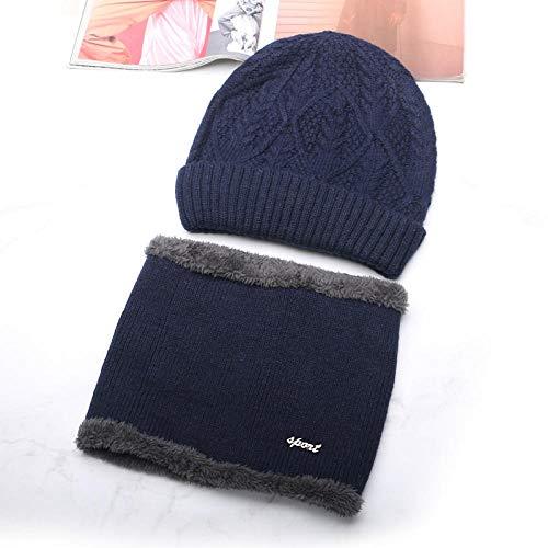 Heren Winter Knit Cap Outdoor Sport Cornice Hoed Zachte Warm Ski Hoed Beanies Hoed Hat Heren Winter Herfst Warm Knit Outdoor Fietsen Koud en Winddicht Coltrui Katoen Wollen Cap