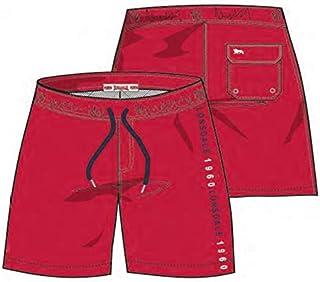 Lonsdale, Bañador de hombre para natación, pantalones cortos de secado rápido para playa, piscina, deporte, pantalones cortos con cierre de cordón y cintura elástica.