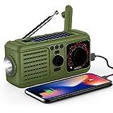 Best Emergency Crank Radios - Solar Crank Emergency Radio, YEZRO NOAA/AM/FM Portable Weather Review