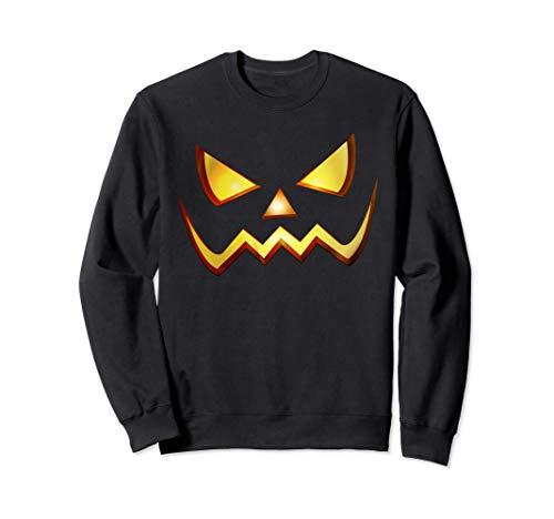 Calabaza Terror Disfraz Halloween Hombre Mujer Niños Niñas Sudadera