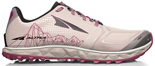 ALTRA Women's AFW1953G Superior 4 Trail Running Shoe, Gray/Raspberry - 5.5 M US