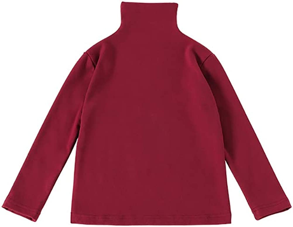 Kids Toddler Baby Sales results No. Challenge the lowest price of Japan ☆ 1 Little Girl Turtleneck Sweater Tunic T-Shirt L