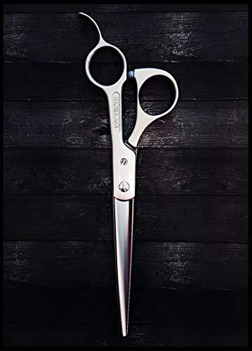 Kamisori Tijeras para el pelo Ergo tamaño 7 pulgadas hecho a mano en Japón