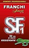 Franchi Sementi - Semi Prato Resistente per 50Mq di Tappeto Erboso, 1kg