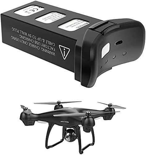 STORM GYRO Batteria intelligente 7.4V 2800mAh Compatibile con Holy Stone HS100 e HS100G RC Drone ricaricabile Li-Po batteria
