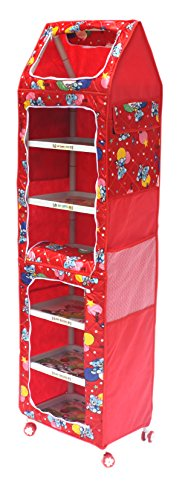 Amardeep and Co XXL Multipurpose Toy Box (Red)