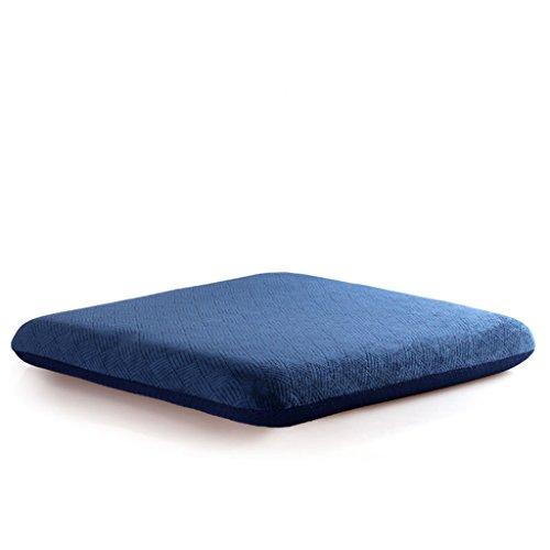 JXXDDQ - Cojines de algodón con memoria para silla de oficina, de madera, acolchados, para silla de comedor o sofá, 50 x 50 cm