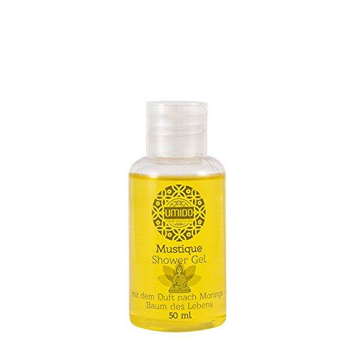 1x UMIDO Duschgel 50 ml Moringa | Waschgel für Körper, Gesicht und Haare | sanfte Pflegedusche | Körperpflege (4-KPF)