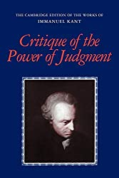 Critique of Judgement by Immanuel Kant Book Cover