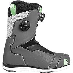 commercial Nidecker x Flow Trinity Boa Focus Snoaboard Boot – Women Space Gray, 7.5 flow boa boots