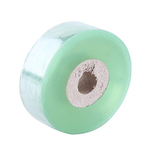 Buachois Cinta de injerto de árbol frutal de PVC, Rama de injerto de Tijeras de podar para Herramienta de jardinería, 2CM × 100M (0.78in × 109yd)