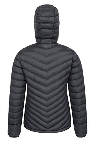 Mountain Warehouse Seasons Womens Padded Winter Jacket – Water Resistant Ladies Coat, Warm, Front Pockets, Adjustable…