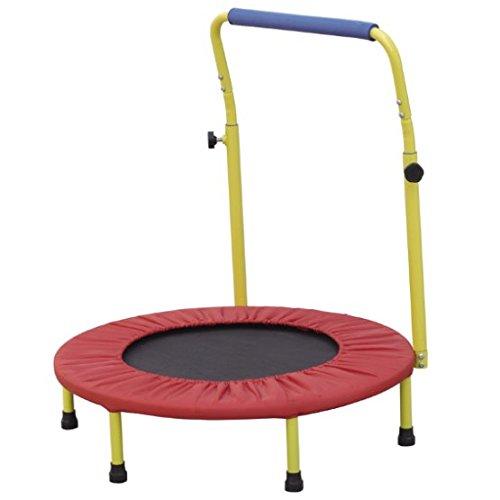 Mini cama elástica trampolín para niños por SEDCO–perfecto para niños–Fitness ejercicio equipo de seguridad para niños–Accesorios de gimnasia para tanto para uso en interiores y exteriores