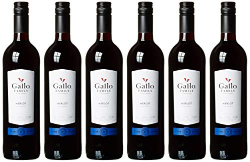 Gallo Family Vineyards Merlot Ernest und Julio  Halbtrocken (6 x 0.75 l)