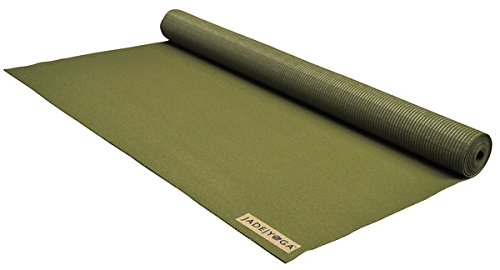 Jade Yoga - Voyager Yoga Mat (68 Inch) (Olive Green)
