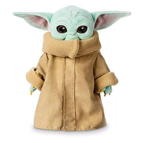 Child Baby Yoda 30cm Cute Mini Cartoon Plush Dolls Colección Star Wars Figura De Acción Infantil Muñeca Juguetes Muñecos De Peluche Regalos De Año Nuevo para Niños