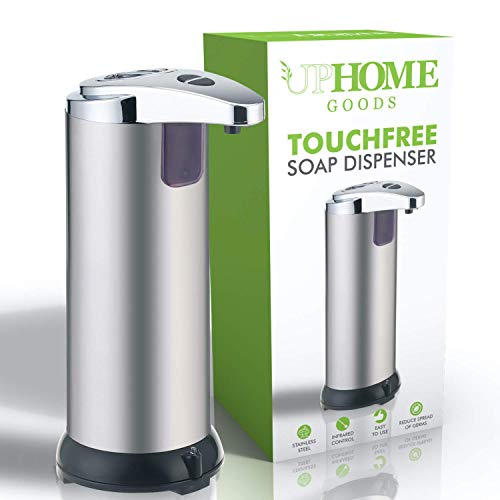 Automatic Soap Dispenser Stainless Steel - Touchless design...