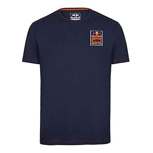 2019 RB K T M Racing MotoGP MX Herren T-Shirt mit Mosaikmuster, Marineblau, Navy, Mens (XXL) 124cm/49 Inch Chest