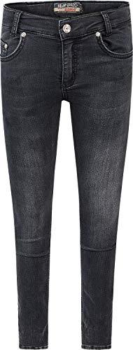 Blue Effect Jungen Jeans Röhre Skinny Fit, Slim Passform, Black Soft Used (9670), 134 Slim