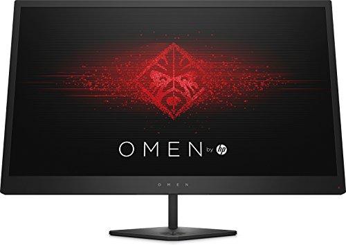 """HP OMEN 27i - Monitor de 27"""" QHD (16:9, 2560 x 1440 pixeles, 165 Hz, 1 ms, 3 x USB 3.0) negro"""