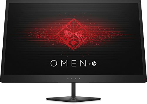 OMEN 27i 2K Monitor Gaming Display (27 Zoll Display, QHD IPS, 165Hz, Adaptive Sync, HDMI, DisplayPort, 3xUSB, 1ms Reaktionszeit, höhenverstellbar, Ambient RGB) schwarz