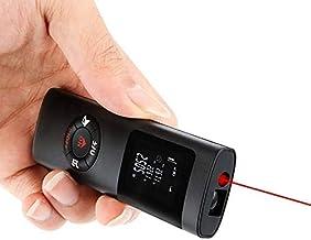 Laser Measure 131ft, Laser Distance Meter 40M, USB Rechargeable, IP54 Waterproof, Backlit Display, Measure Distance Area V...