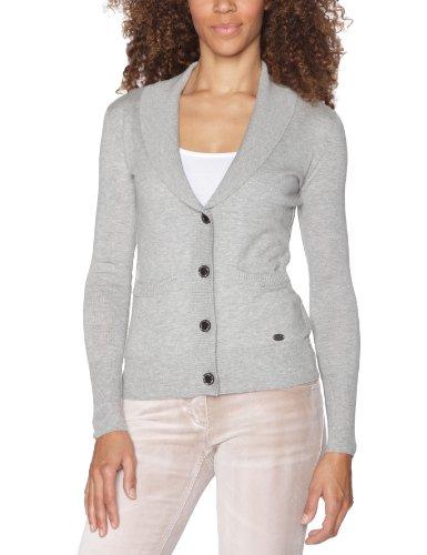 Quiksilver - Chaqueta para Mujer, tamaño M, Color Calor Gris Claro