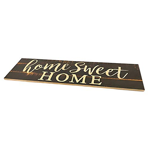 Perfecthome houten letters Home Sweet Home Wandbehang, rechthoekig, wanddecoratie, decoratie voor huis, woonkamer, eettafel, decoratie