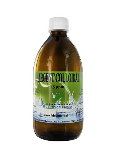 Bio Colloïdal Argent Colloïdal 15 ppm 500 ml