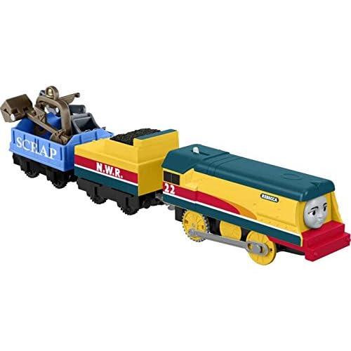 Il Trenino Thomas - Rebecca, Playset con Locomotiva Motorizzata, Giocattolo per Bambini 3+ Anni, FXX57