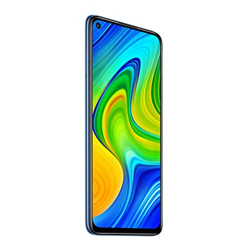 "Xiaomi Redmi Note 9 - Smartphone de 6.53"" FHD (DotDisplay, 4 GB RAM, 128 GB ROM, cámara Quad de 48 MP, Hotshot 3.5 mm, Headphone Jack, batería de 5020 mAh) Midnight Grey [UK Version]"