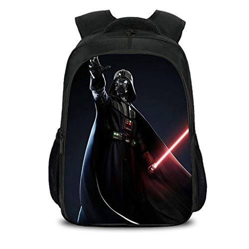 Bambini Zaino Star Wars Zaino Anime Scuola Elementare Schoolbag Borsa da Viaggio Borsa per Computer di Alta capacità A-40CM*27CM*17CM