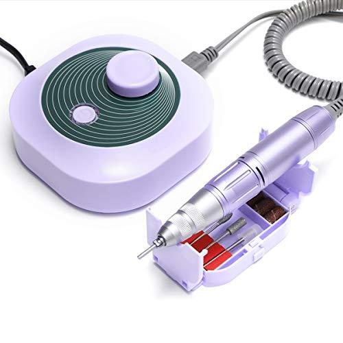 Madenia Fresa per Unghie Professionale Elettrico per Unghie 30000 RPM Unghie per Manicure e Pedicure