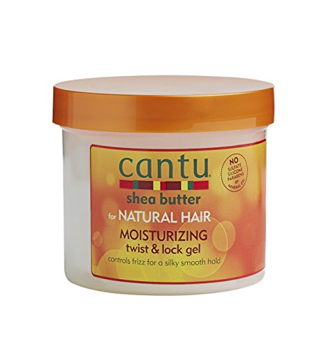 Cantu Shea Butter For Natural Hair Moisturizing Twist & Lock Gel, 13 Ounce (Pack of 1)
