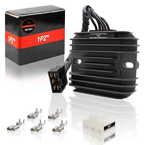 1PZ VR5-R01 Regulator Rectifier Voltage for Suzuki GSXR 600 GSXR600 97-05, GSXR750 GSXR 750 96-05, GSXR1000 GSXR 1000 01-04, GSX1300R Hayabusa 99-07, VL1500 Intrude 98-04, LT-F500F Quadrunner 98-99