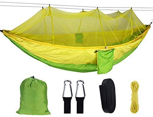 OH Hamocks Camping Hammocks with Mosquito Net Portable Travel Camping Fabric Hanging Swing Hammocks Bed Garden Niture Fashion