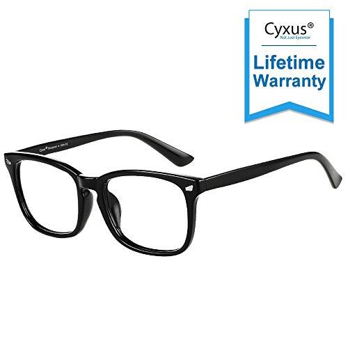 Cyxus Gafas con Filtro de luz Azul bloqueo de luz azul, Gafas...