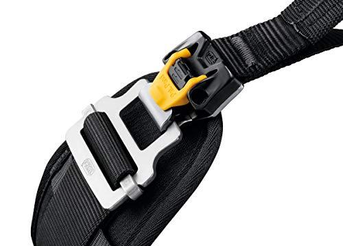PETZL - Sequoia SRT Tree Care Seat Harness, Black/Yellow, 1