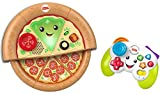 Fisher-Price Laugh & Learn Game and Pizza Party Gift Set of 2 toys with lights, music and learning content for...