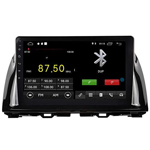 Autosion Android 10 Lecteur DVD de Voiture GPS Stéréo HeadUnit Navi Radio Multimédia WiFi pour Mazda CX-5 2012 2013 2014 2015 Commande au Volant