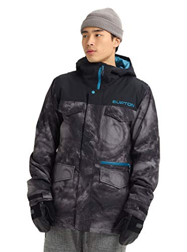 Burton Herren Skijacke Snowboardjacke Covert, Herren, Snowboard-Jacken, Men's Covert Jacket, Niederdruck/True Black, XX-Small