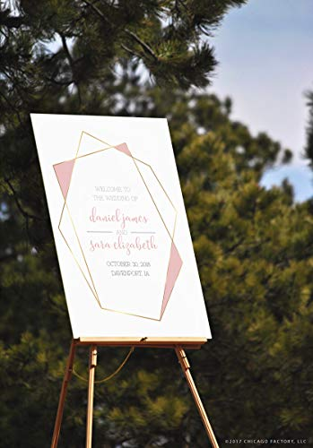 CELYCASY Aanpasbare Bruiloft Teken Sjabloon, Printable Wedding Sign, PDF Wedding Signs, Directe Download, Digitale Wedding Signs, Ceremony Sign (D024)