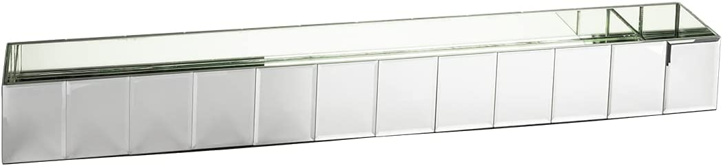 Koyal Wholesale Mirror Vase Centerpieces Rec 訳あり品送料無料 Oblong 40%OFFの激安セール Decor Gatsby