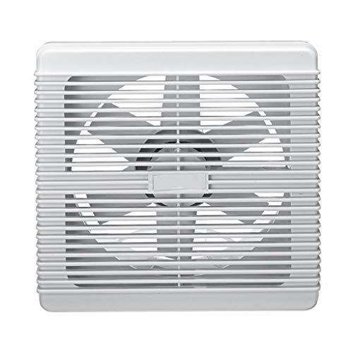 JEONSWOD Extractor de baño Impermeable de 4/6/8 Pulgadas, Ventilador de Escape silencioso, Ventilador Fuerte para Cocina, Inodoro, Ventiladores de ventilación de Ventana de 220 V (Size : (6inch))