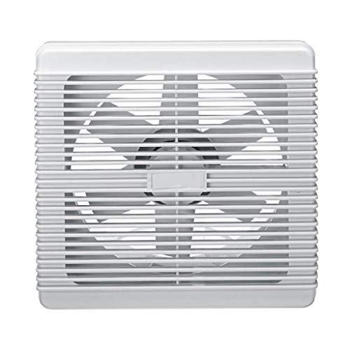 XZJJZ Extractor de baño Impermeable de 4/6/8 Pulgadas, Ventilador de Escape silencioso, Ventilador Fuerte para Cocina, Inodoro, Ventiladores de ventilación de Ventana de 220 V (Size : (8inch))