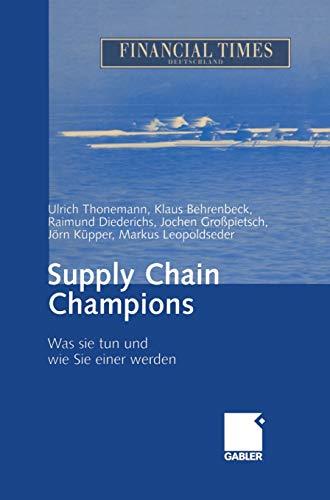 Supply Chain Champions: Was sie tun und wie Sie einer werden