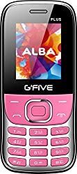 G Five Basic Feature Mobile Phone with Dual Sim, 1.8-Inch, 1050 mAh Battery, FM Radio, Bluetooth, Digital Camera, Expandable Upto 16GB (Pink)
